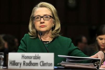 Hillary Clinton Testifying